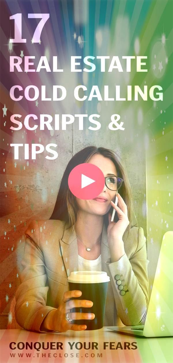 Real Estate Cold Calling Scripts and Tips to Conquer Your Fears  The Close For real estate agents cold calling can be one of the most dreaded lead generation methods out...