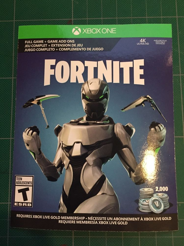 Fortnite Eon Skin Xbox One Code 2 000 V Bucks Code Only Read