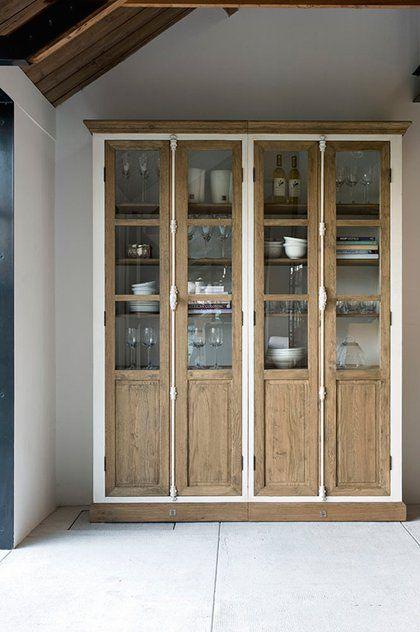 cocinas Alacenas para organizar y almacenar en tu cocina vitrinas