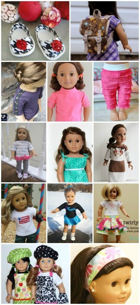 80 Free American Girl 18 Doll Patterns American Girls Dolls And
