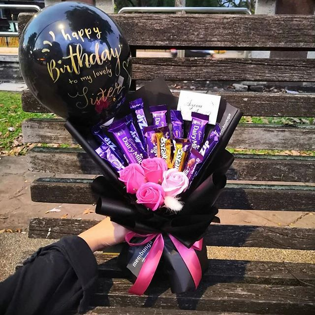 Chocolate Bouquet Birthday Gift Delivery Kuala Lumpur