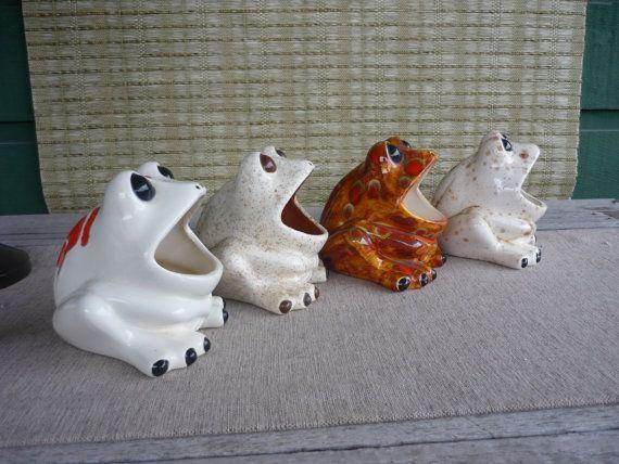 Frog Kitchen Decor   Vintage Ceramic Sink Frog, Retro 70u0027s Kitchen Decor