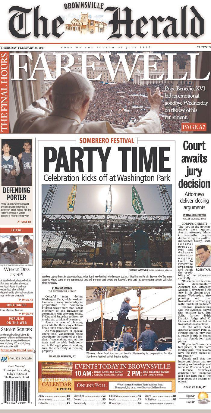 brownsville texas newspaper