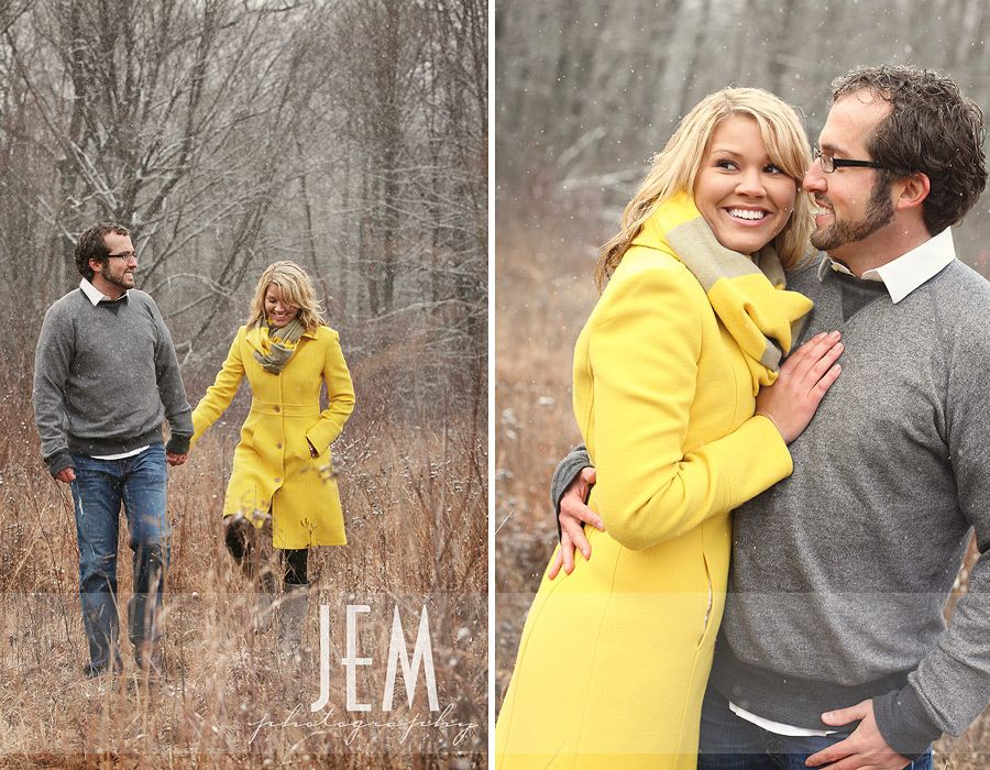 Winter Engagement: Toledo