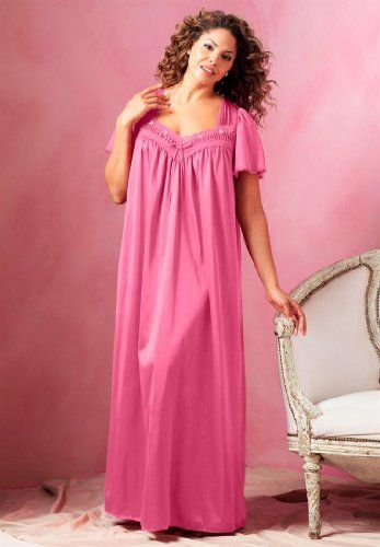 cdc43767f5 ... silky nightgown that s also cling-free. TOPSELLER! Only Necessities  Women`s Plus Size Si...  35.25