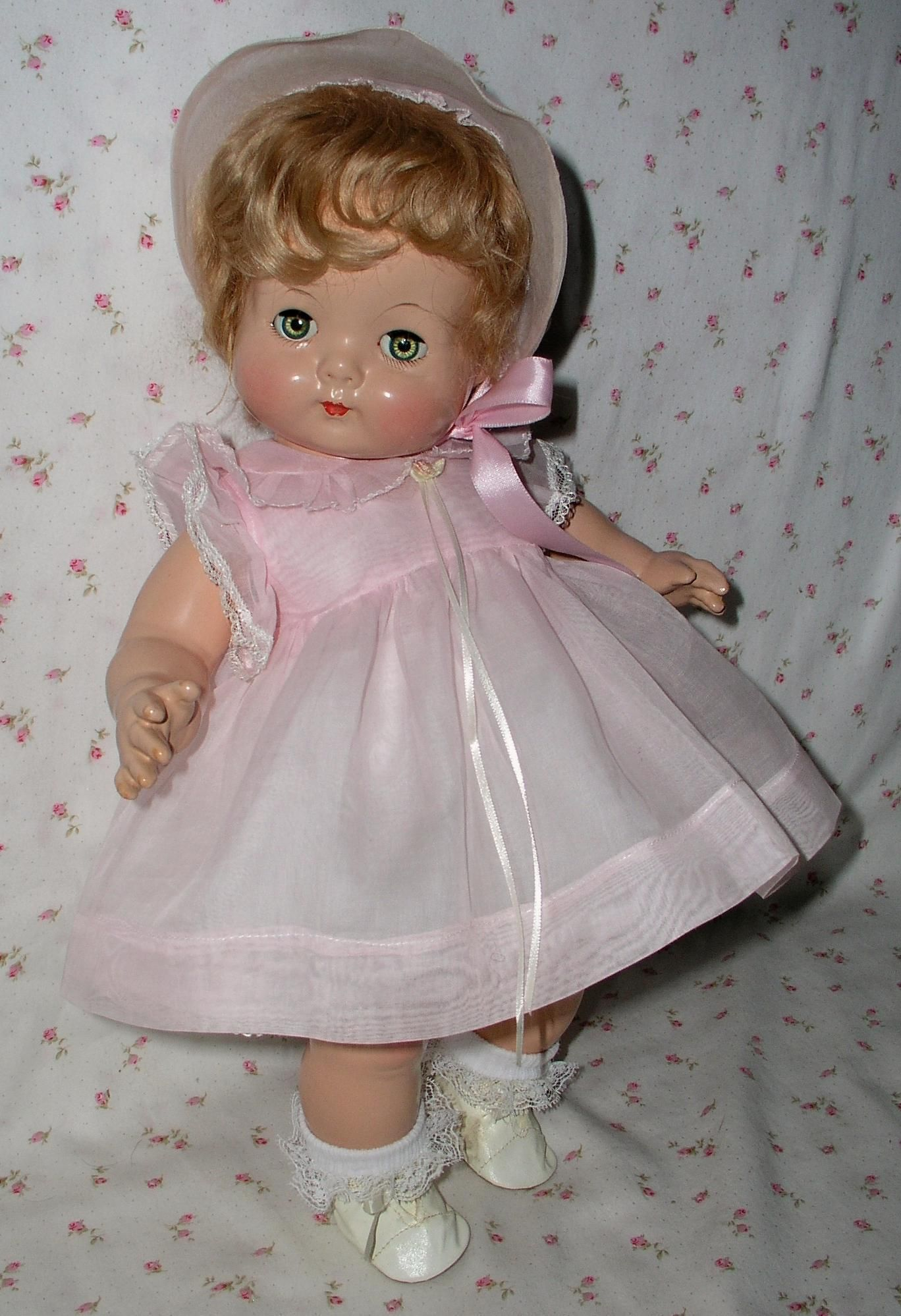Vintage Tallina/'s Doll Supplies  Doll Acrylic Round Eyes Grey Color  22MM New