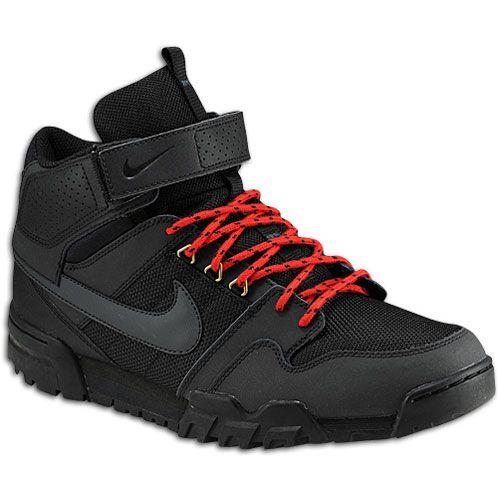 buy online 5bd2e 5274f Nike Mogan Mid 2 OMS - Men s - Skate - Shoes - Black University  Red Anthracite