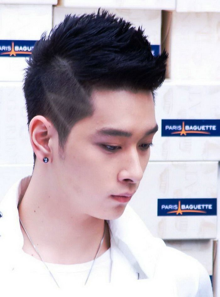 Black Spike Asian Hairstyles Men Korean Men Hairstyle Asian Men
