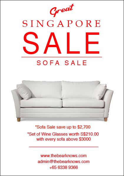 Designer Furniture Sale: Scandinavian Furniture Sale - Poster On Behance