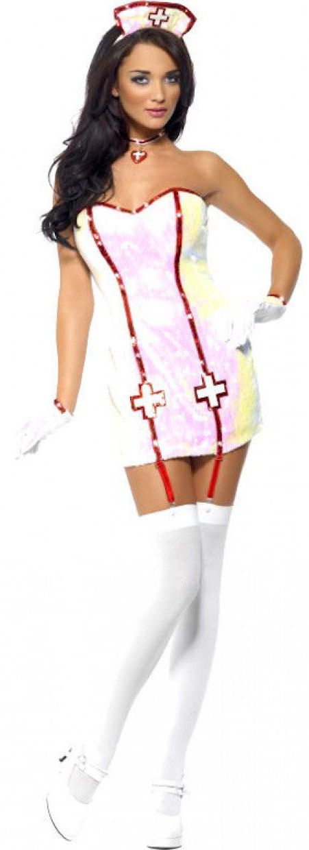 Sexy Womens Naughty Nurse Cosplay Costume Doctor Role Play