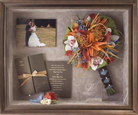 Freeze Frame It S A Bride Life Miss Detailed David Tutera Wedding Shadow Box