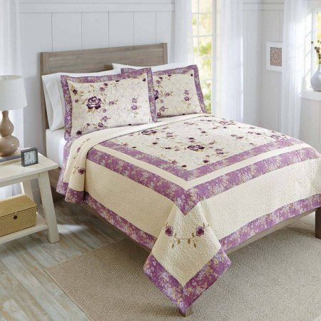 4946bc03f34bd594161efc17019b799a - Better Homes And Gardens Solid Border Quilt