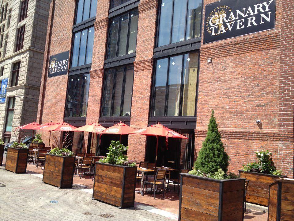 Boston Patio Brunch at Granary Tavern in Downtown Boston