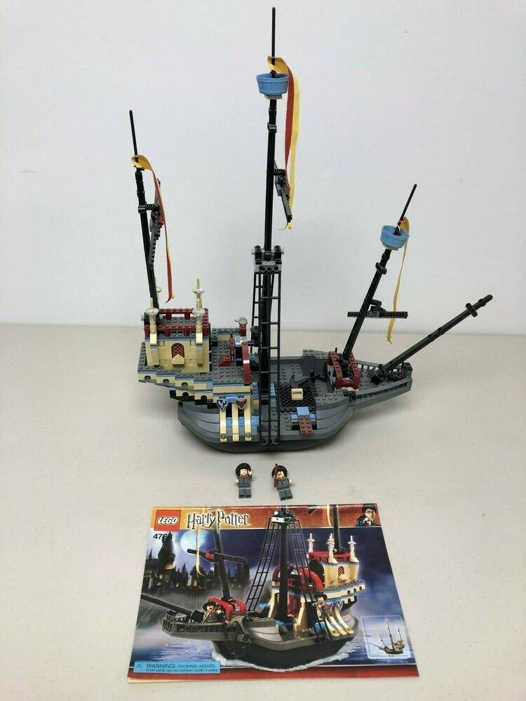 Lego Harry Potter Durmstrang Ship 4768 Target Exclusive Missing 2 Minifigures Harry Potter Goblet Harry Potter Lego Sets Lego Harry Potter It contains 550 pieces and 2 minifigs , and its retail price was us$49.99/£39.99. lego harry potter durmstrang ship 4768