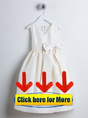 8143e9fd9d7 Ivory V-Neck Poly Dupioni Dress w  Bow 👈  flower Ivory V-neck poly dupioni  flower girl dress with bow  Bow  dress  dupioni  flower  flowerart ...