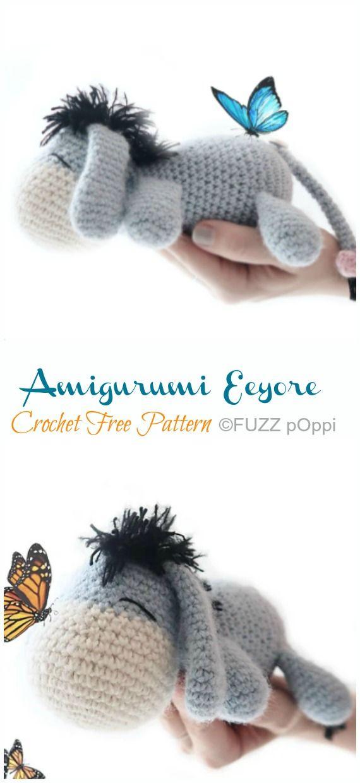 Amigurumi Eeyore Donkey Crochet Free Patterns - Crochet & Knitting