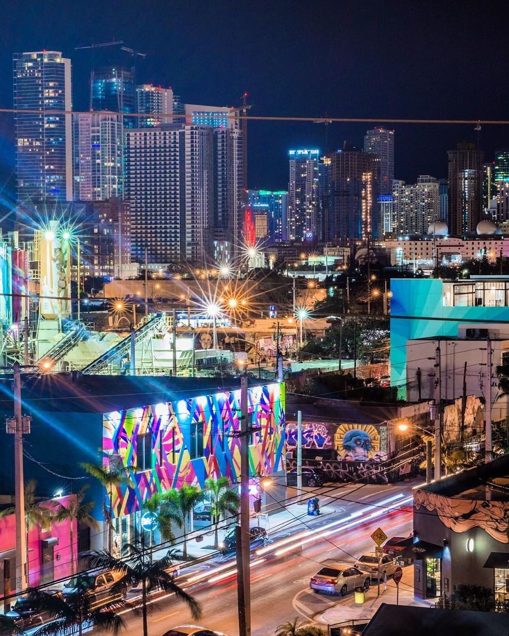 Miami At Night By Tony Sarria In 2020