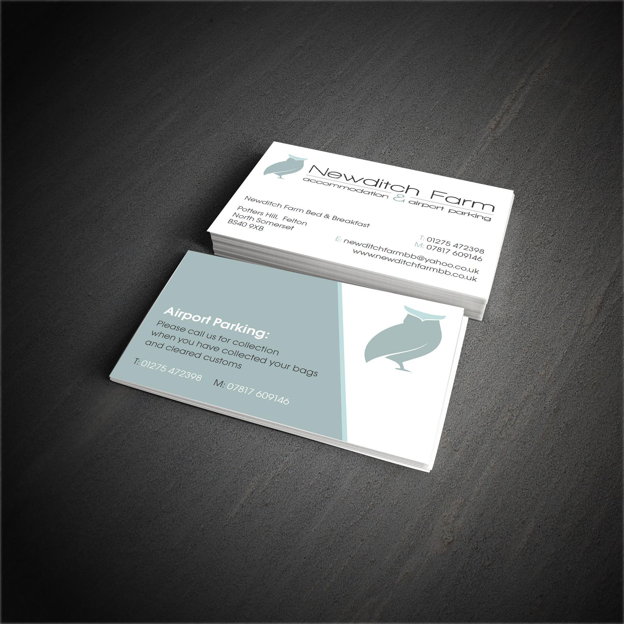 Newditch Farm Business Card Design | Branding & Design | Pinterest ...