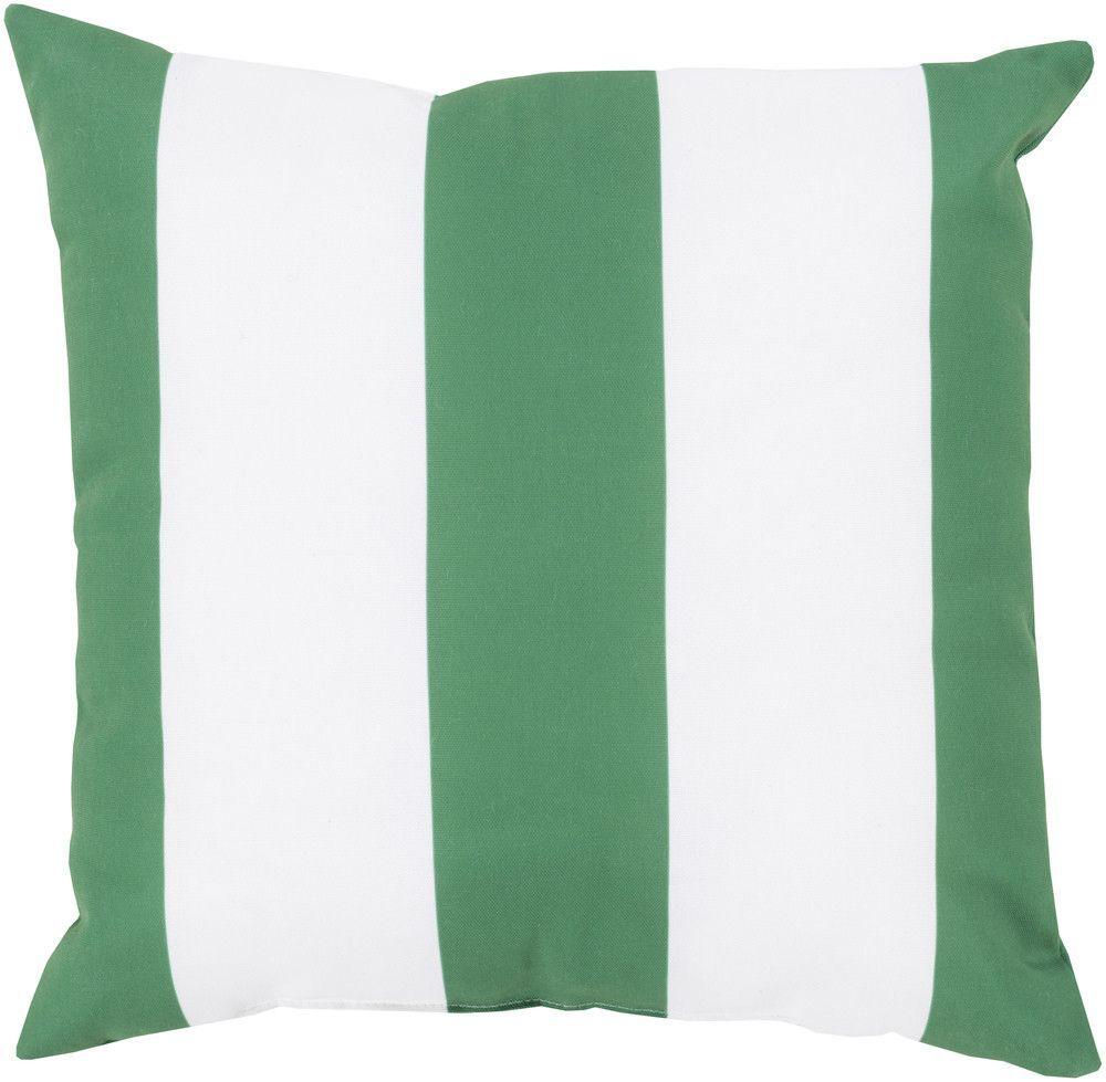 Awning Stripe Kelly Green Outdoor Emerald Kelly Green Ivory Pillow Green Throw Pillows Modern Throw Pillows Pillows
