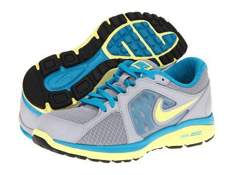 Nike Dual Fusion Run Pure Platinum/Sport Fuchsia/Electric Yellow/Atomic  Teal -