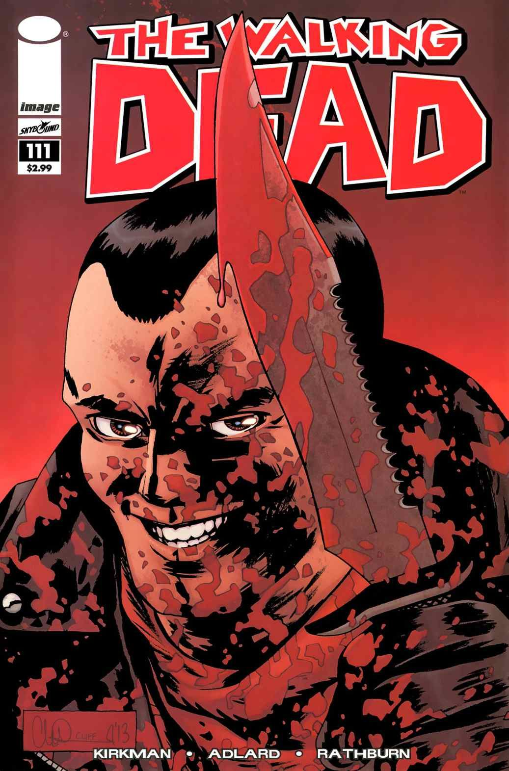 Read Comics Online Free The Walking Dead Chapter 111 Page 1