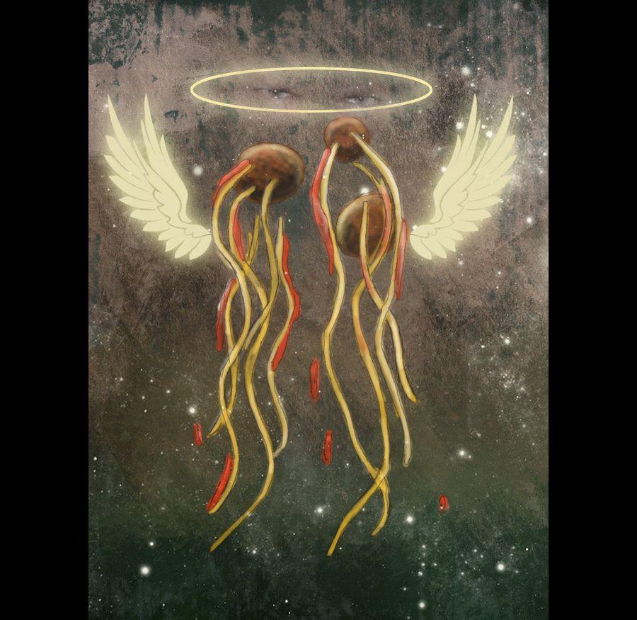 Obey Flying Spaghetti Monster by RoyalFlowerGarden.deviantart.com on @deviantART