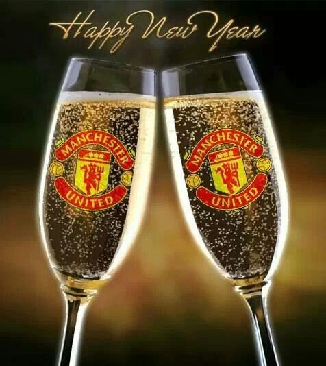 Manchester United Happy New Year Manchester United Wallpaper The Unit Manchester United