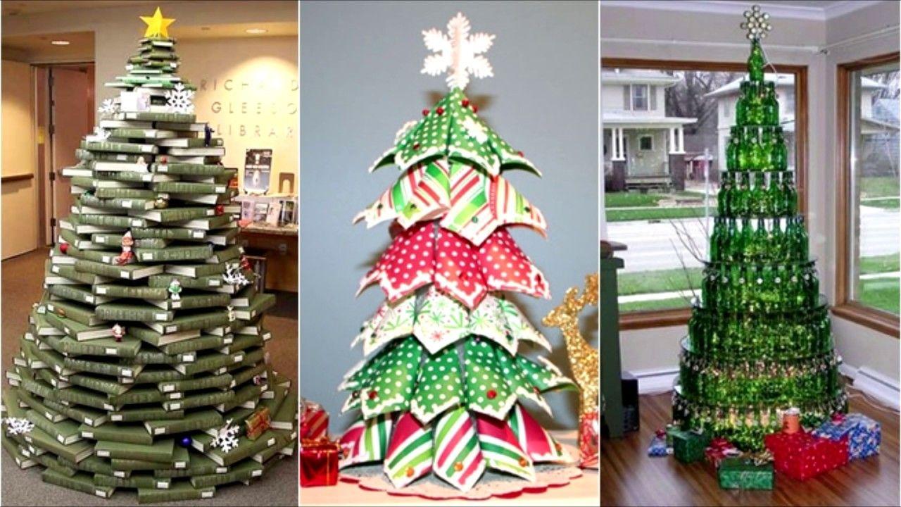 cmo hacer rboles de navidad caseros si te gusta decorar tu casa en navidad pero este ao te apetece darle un aire completamente distinto y novedoso - Arboles De Navidad Caseros
