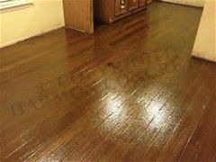 Image result for painting concrete floor look like wood