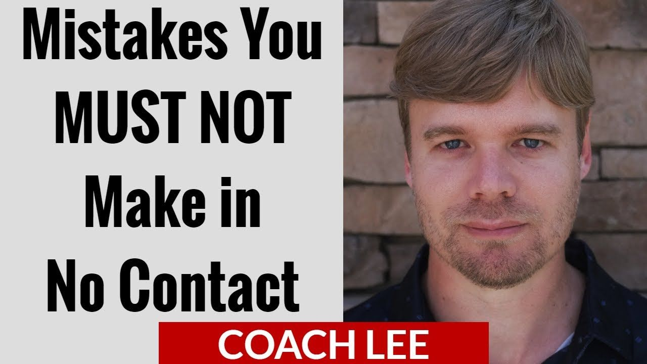 Coach lee explains the mistakes you must not make while