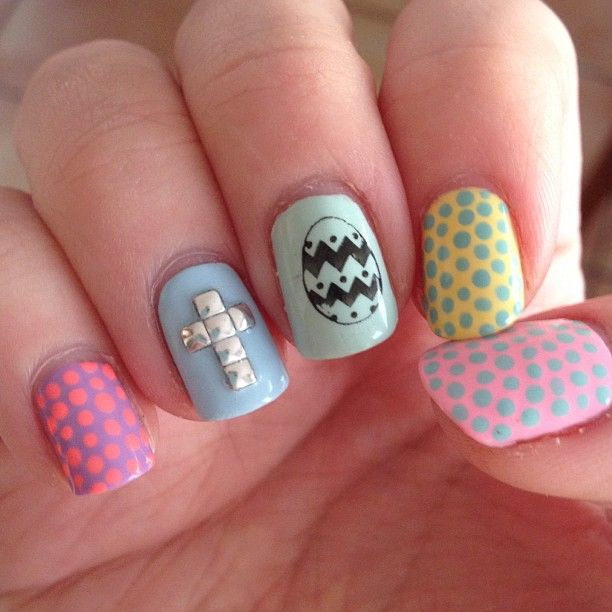 Easter nails.