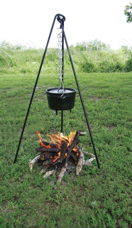 Photo of Texsport Campfire Tripod Camping Cookware | Wayfair