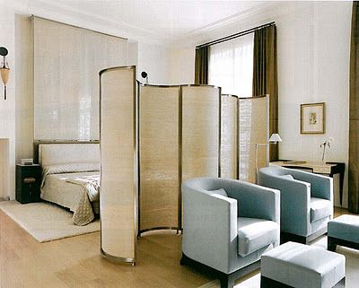   P   Master Bedroom Andree Putman - Folding Screen