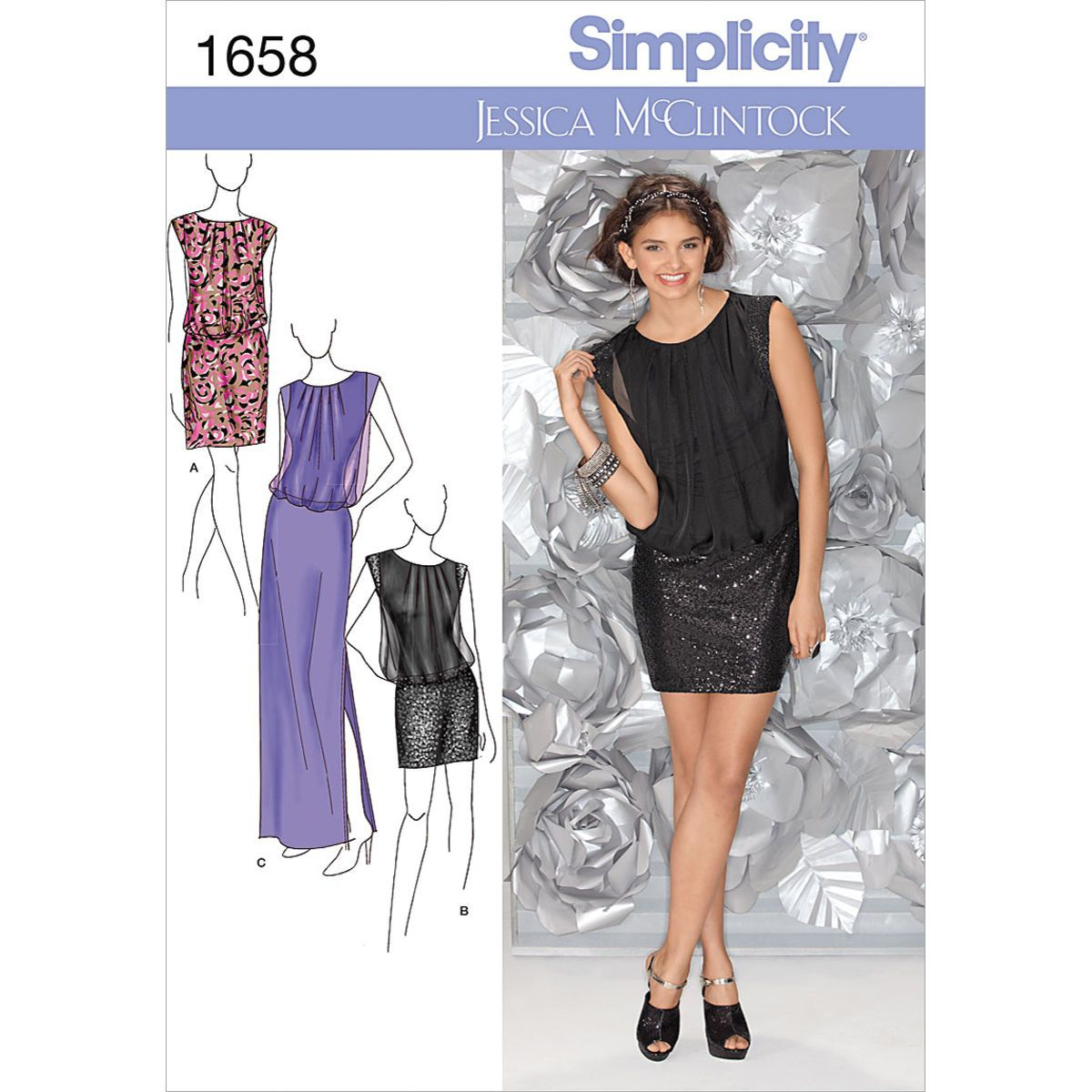 Simplicity Pattern 1658R5 14 - 16 - 18 - 2 - Simplicity Misses Sp
