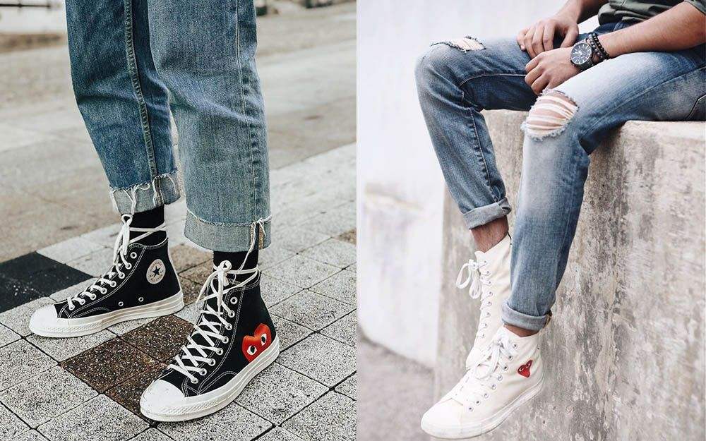 Converse High Tops Sneakers: Nailing Lace Up Style | High