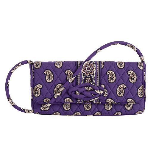 Knot Just a Clutch in Siply Violet