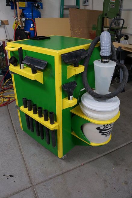 Shop Vac Silencer Cabinet Woodworking Shop Woodworking Shop Design Ideas Shop Vac