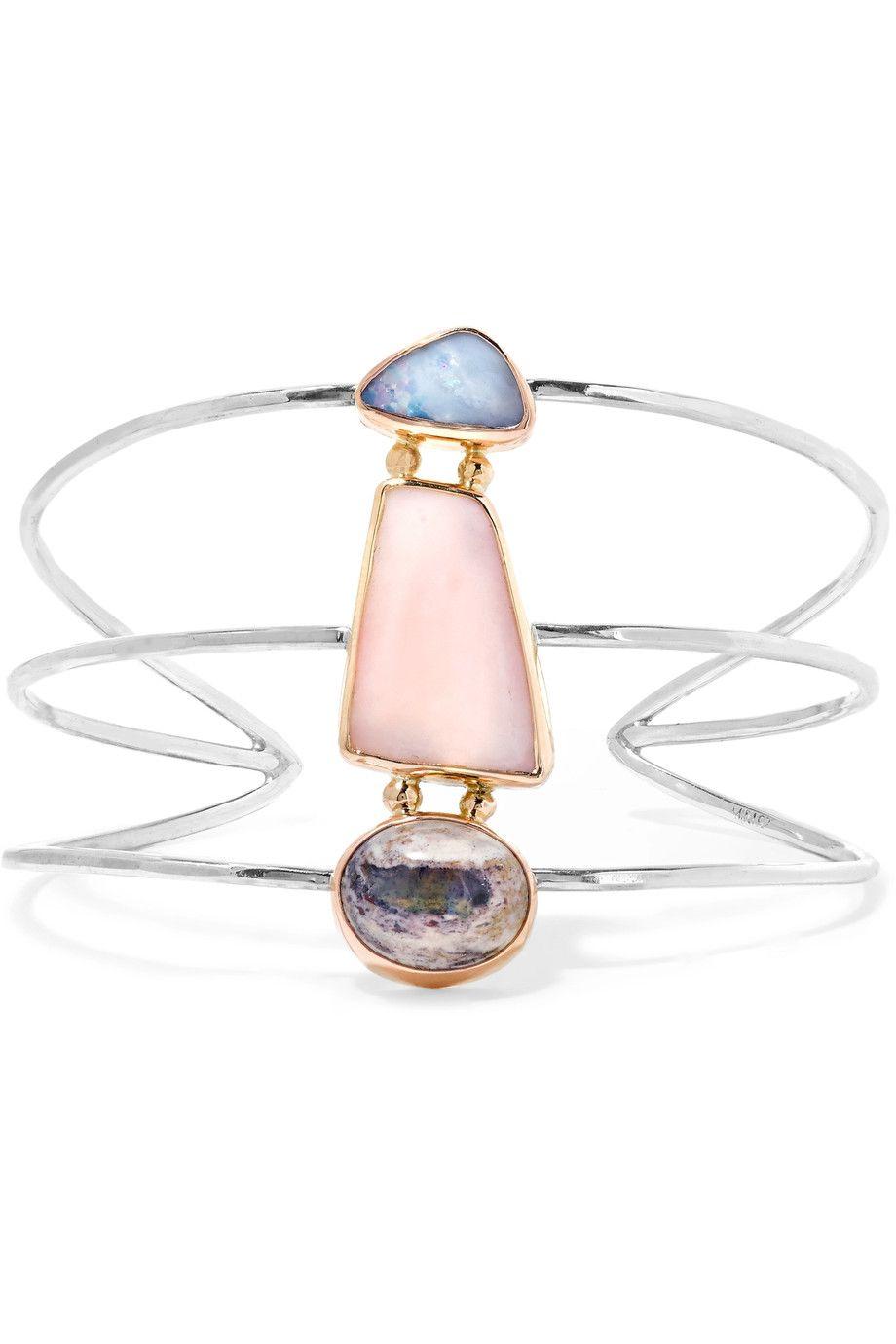 14-karat Gold Opal Cuff - one size Melissa Joy Manning xc7HXerjr