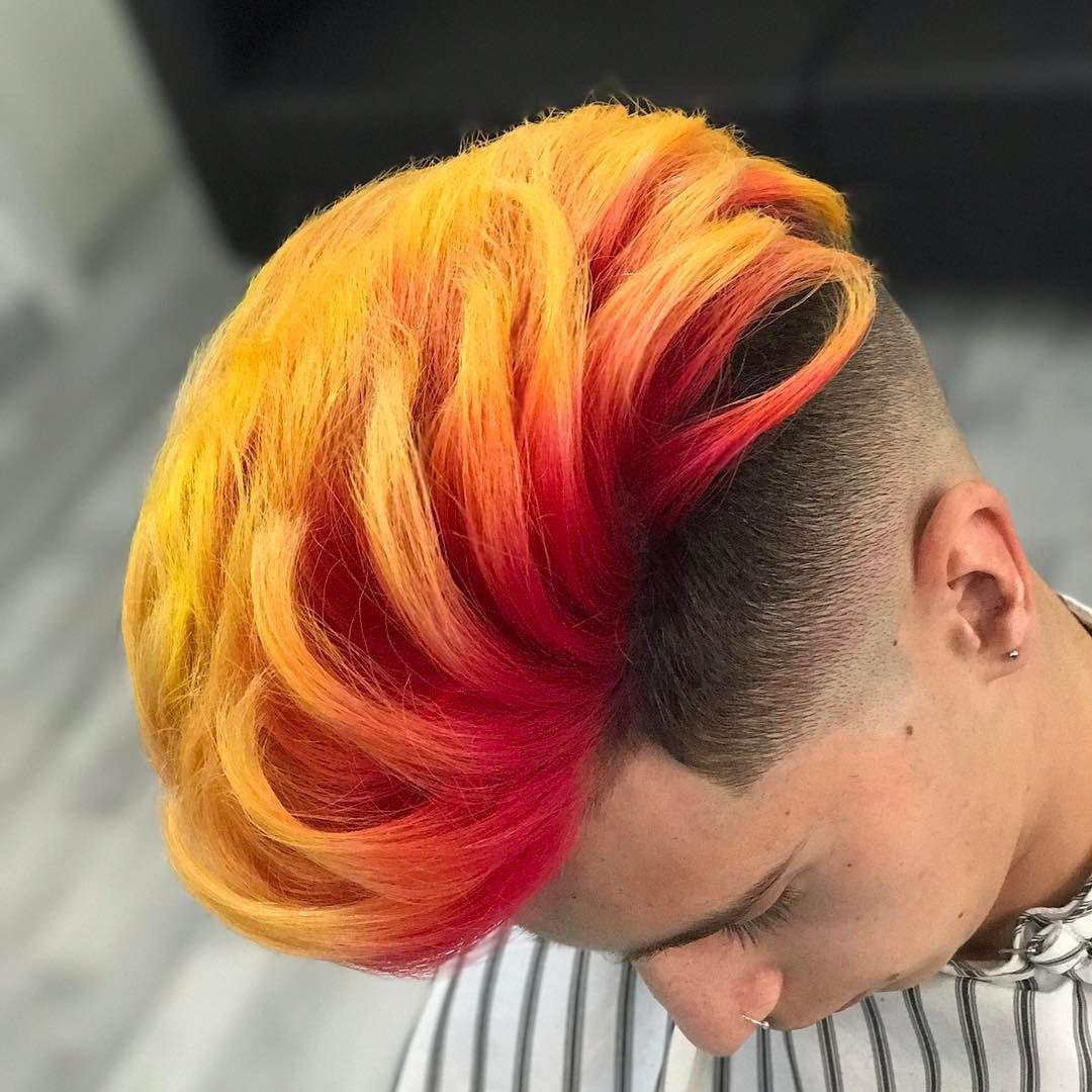 Men S Latest Hair Color Mens Hair Colour Men Hair Color Dyed Hair Men