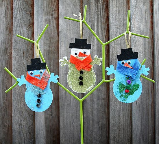 Raymond Briggs The Snowman Christmas Tree Decorations: Preschool Christmas Fun