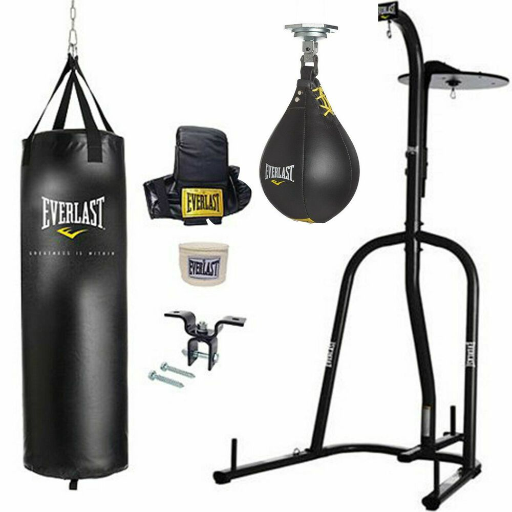 Everlast Home Gym Fitness Punching Heavy Speed Boxing