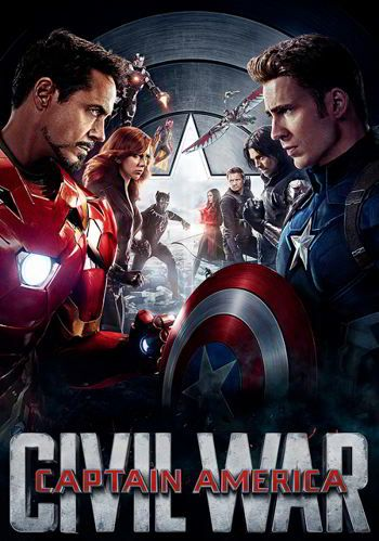 Capitan America 3 Civil War 2016 Capitan America Civil War Capitan America Peliculas