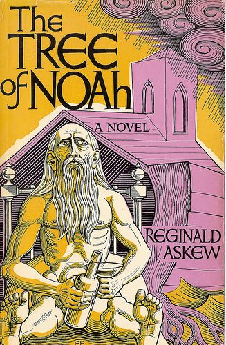 """Eric Fraser cover art for """"The tree of Noah"""" - 1971. Love his colours and style."""