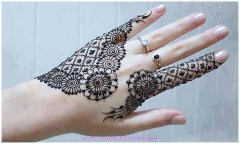 Simple Pakistani Mehndi Designs For Eid 2019 Circle Mehndi