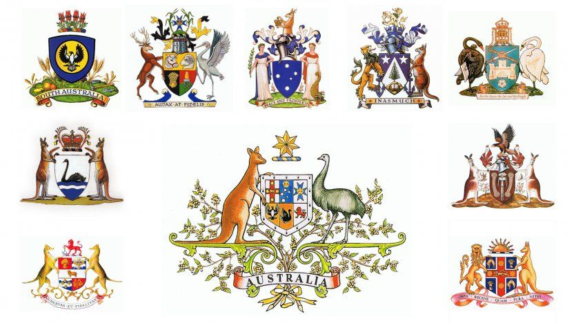coat of arms of all the australian states and territories in 2019