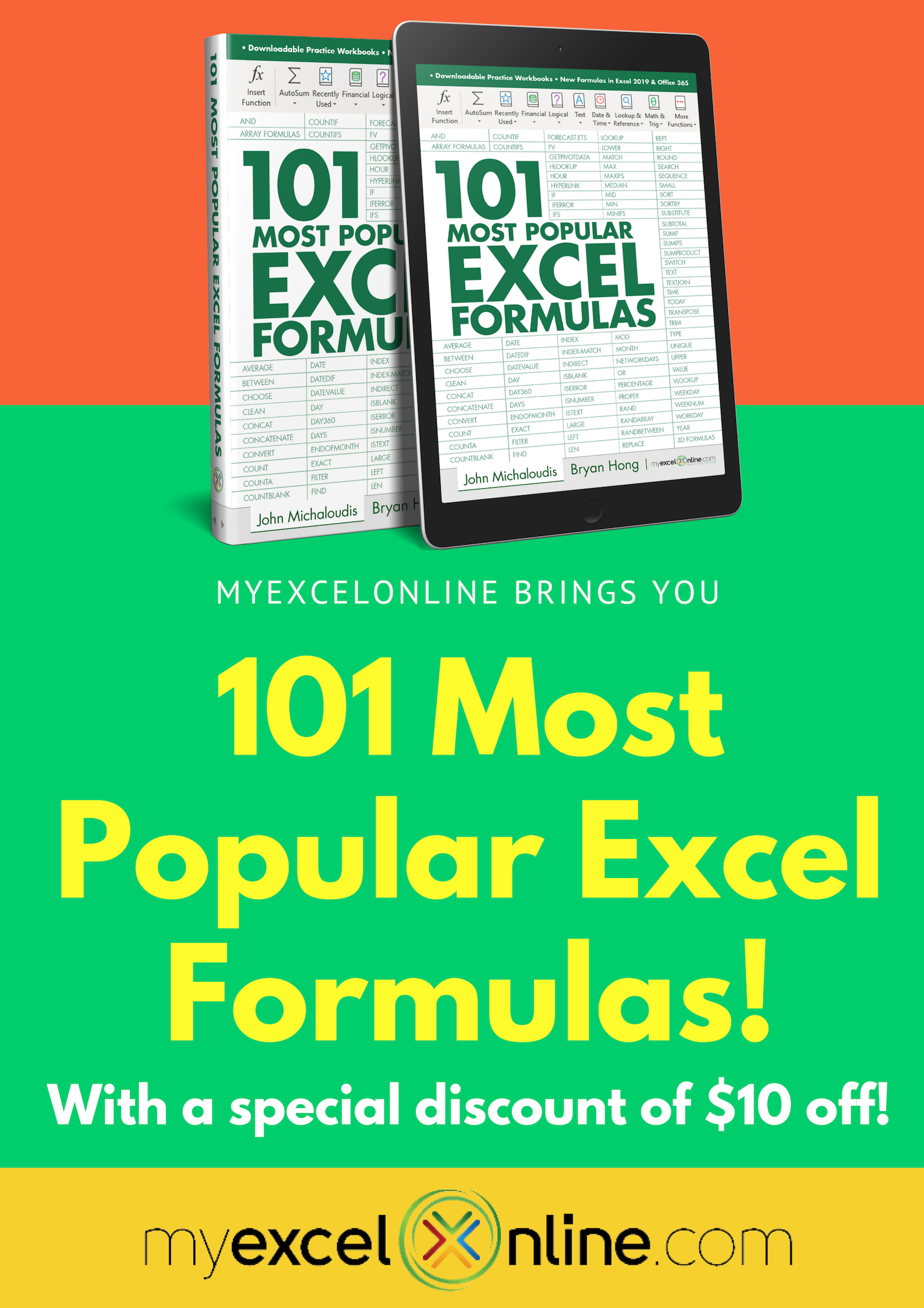 20 Most Popular Excel Formulas   Excel formula, Excel for ...