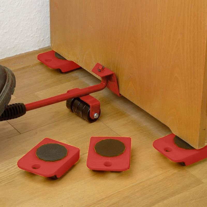 Home Trolley Lift And Move Slides Kit Easily System For Heavy