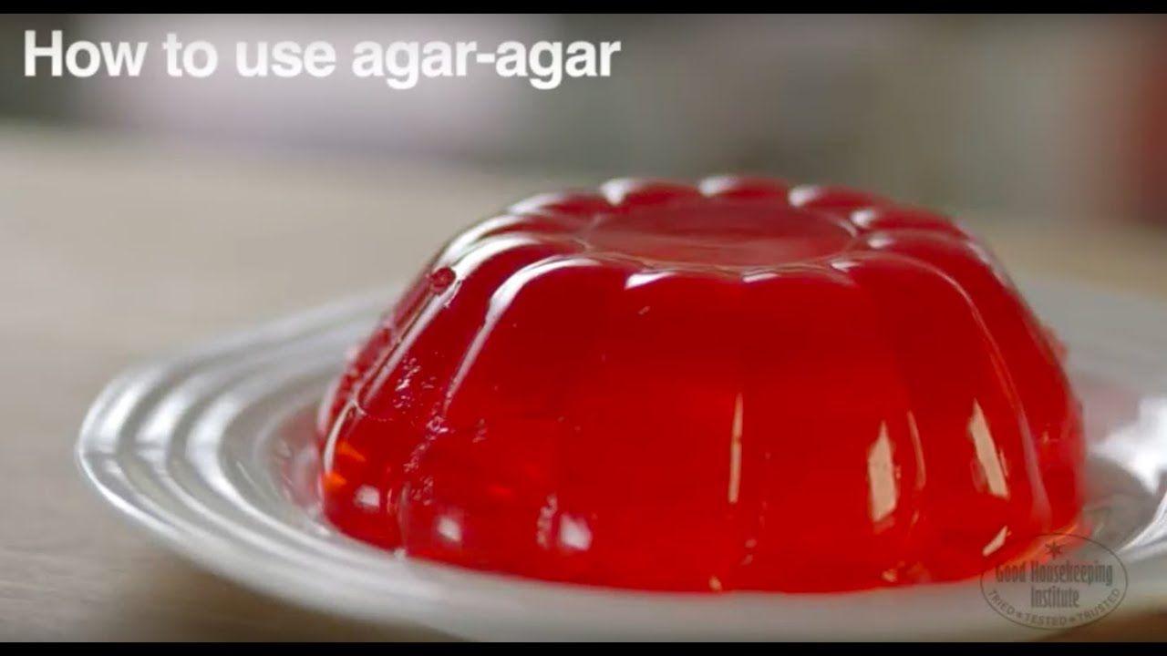 How To Use Agar Agar Good Housekeeping Uk Youtube In 2020 Agar Vegan Truffles Frozen Desserts