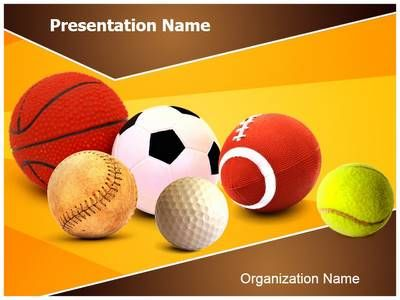 Ball Games Powerpoint Template Is One Of The Best Powerpoint