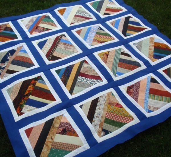 String Twist Modern Quilting Strip Quilt Patterns Free Pinterest